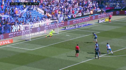 Un nou meci trist pentru românii de la Super Depor. VIDEO | Cât de aproape a fost Panti să scoată penalty-ul lui Moreno! Andone a jucat doar 21 de minute