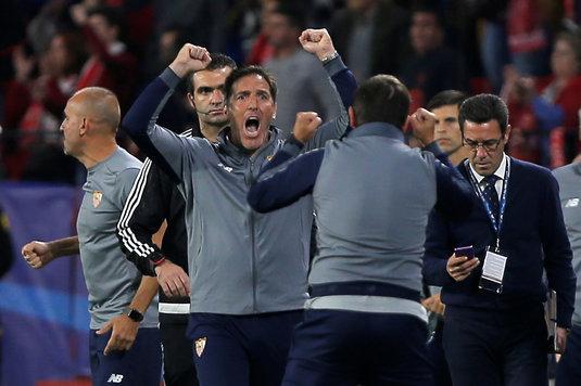 Anunţul de ULTIMĂ ORĂ făcut de FC Sevilla! Decizia luată de Eduardo Berizzo după miracolul din meciul cu Liverpool