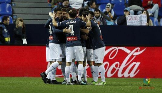 VIDEO | Tensiuni la prima victorie a lui Espanyol în deplasare! Jucătorii celor două echipe s-au încăierat la ultima fază a meciului