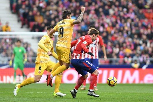 VIDEO | Surpriză mare în La Liga! Atletico Madrid a remizat pe teren propriu cu revelaţia Girona