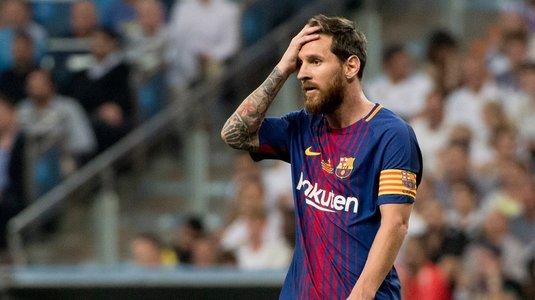 """""""Nu mă pot retrage de la echipa pe care o iubesc"""". Messi şi-a prelungit contractul cu Barcelona, dar a făcut un anunţ ciudat"""