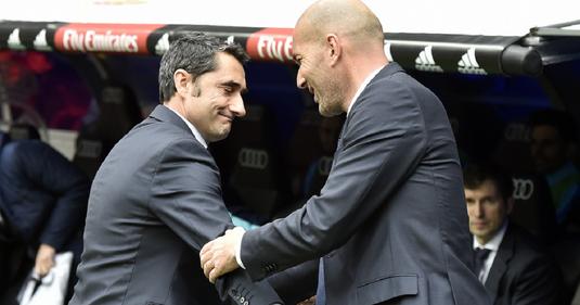 Zidane vs. Valverde! Bilanţ dezastruos pentru antrenorul Barcelonei. Ce urmează?