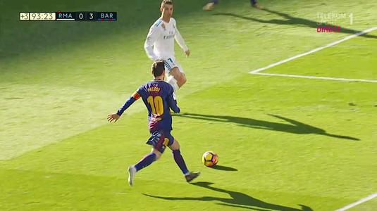 VIDEO   E imaginea serii în LaLiga. Messi, desculţ în momentul pasei la golul trei al Barcelonei