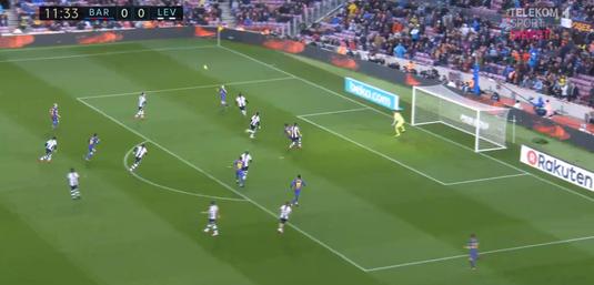 VIDEO | Messi, bijuterie de gol la meciul cu numărul 400 pentru Barcelona în La Liga! Cum şi-au umilit catalanii adversarii