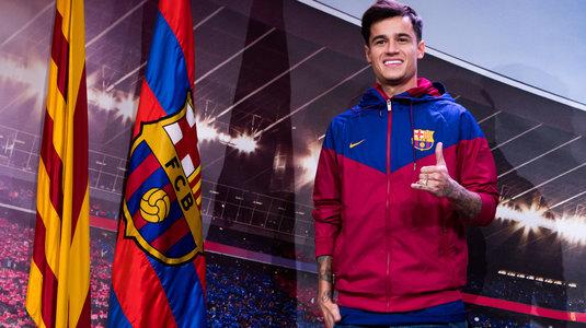Coutinho, la loc comanda. Motivul pentru care nu poate juca la Barcelona