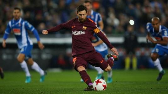 VIDEO | Înfrângere surprinzătoare pentru FC Barcelona în derby-ul cu Espanyol. Messi a ratat un penalty la scorul de 0-0