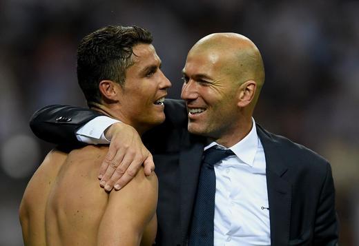 """Zinedine Zidane: """"Eu nu văd un Real Madrid fără Ronaldo """""""