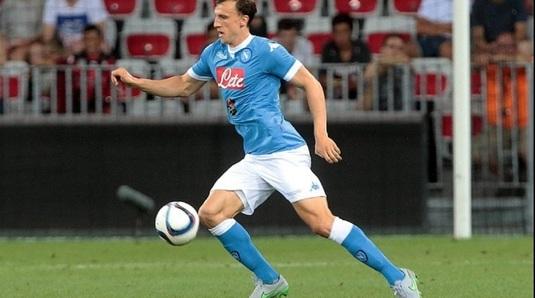 Vlad Chiricheş doar rezervă în meciul pe care Napoli l-a câştigat în faţa Romei, scor 1-0