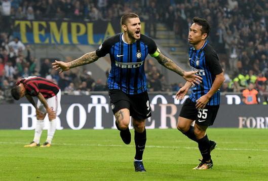 Inter o învinge pe Milan după o seară fantastică a lui Icardi! Derby della Madonnina se decide în minutul 90, din penalty