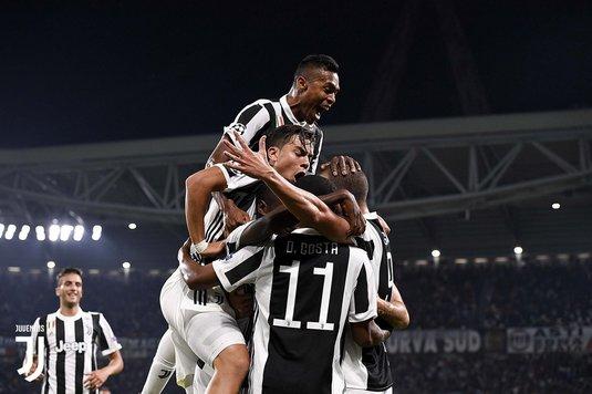 Juventus a învins-o pe AC Milan şi a egalat-o pe Napoli la puncte!