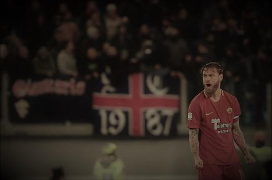 VIDEO | AS Roma a învins Cagliari printr-un gol controversat marcat în minutul 90+4. A fost nevoie de tehnologia VAR