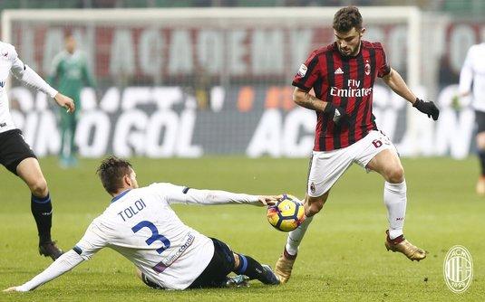 Eşec pentru AC Milan în etapa a XVIII-a din Serie A, scor 0-2 cu Atalanta