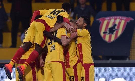Surprize mari în Italia! Roma, doar egal acasă cu Sassuolo. Benevento a obţinut prima sa victorie din istorie în Serie A!