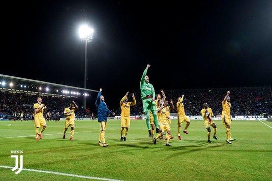 Juventus a învins Cagliari, scor 1-0, în campionatul Italiei. Dybala s-a accidentat