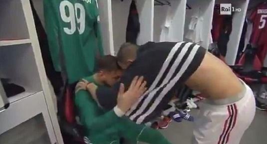 FOTO | Fanii lui AC Milan l-au făcut pe Donnarumma să plângă în hohote. Cum l-au terorizat la meciul cu Verona