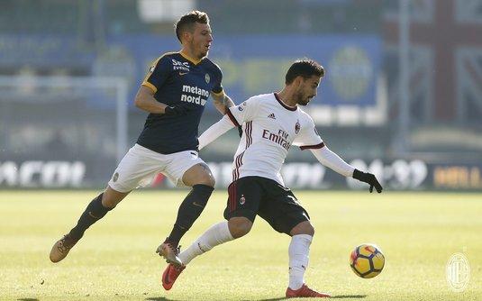Umilinţă pentru AC Milan în Serie A! Echipa lui Gattuso a pierdut cu 0-3 la Verona