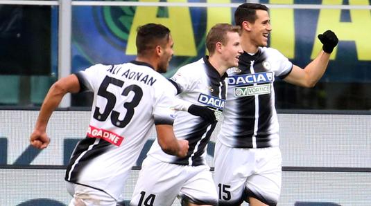 Surpriză imensă în Serie A! Inter a pierdut cu Udinese şi poate ceda primul loc în Serie A