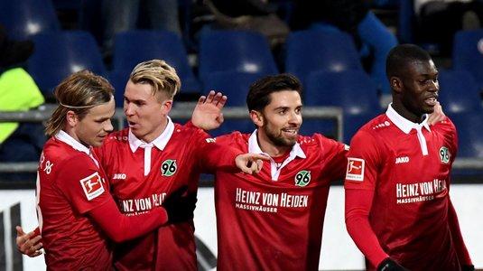 Meci nebun în Bundesliga! Hannover - Leverkusen era 3-2 la pauză. Cât s-a terminat
