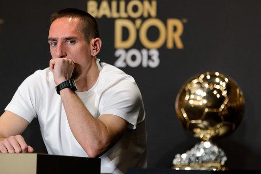 """""""E ca şi cum mi l-au furat! E inexplicabil!"""" Ribery, fără perdea despre unul din cele mai controversate momente din istoria Balonului de Aur. De ce nu a câştigat în 2013"""