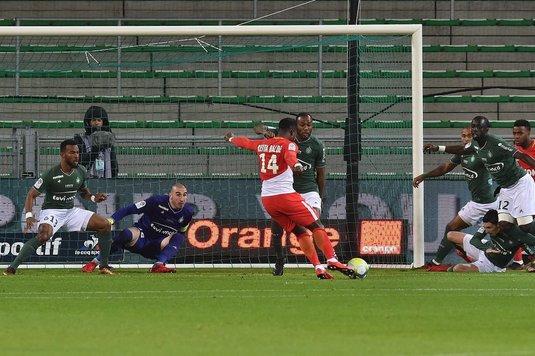 Saint-Etienne, al nouălea meci consecutiv fără victorie, scor 0-4 cu AS Monaco