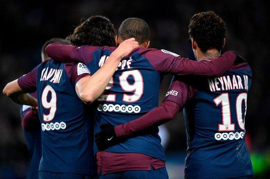 Paris Saint-Germain a învins Dijon, scor 8-0, în Ligue 1; Neymar a marcat de patru ori, Di Maria de două ori