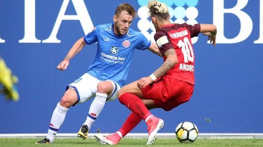 VIDEO | A spart gheaţa! Maxim marcheaza primul său gol pentru Mainz în Bundesliga!