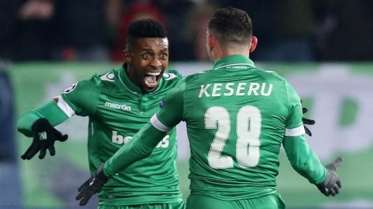 Un nou gol înscris de Keşeru pentru Ludogoreţ