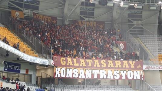 Galatasaray, umilită de Basakşehir cu Latovlevici pe teren. Românul a reuşit însă un assist