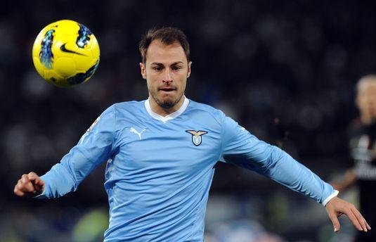 Mutu şi Contra au asistat la AS Roma - Lazio 2-1. Ştefan Radu a fost înlocuit în minutul 77