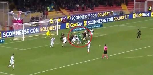 George Puşcaş, gol în meciul nebun cu AC Milan! Benevento obţine primul punct în Serie A după un final FABULOS: portarul a egalat în 90+5
