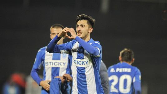 Andrei Ivan, surprins la Bucureşti. Ce a spus despre un eventual transfer la FCSB