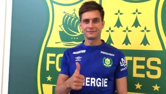 Veste formidabilă pentru Ciprian Tătăruşanu! A fost ales în echipa sezonului în Ligue 1