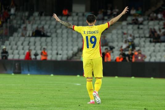 """Şansa lui Bogdan Stancu! Ofertă de 1,7 milioane de euro pentru """"Motan"""". Unde poate ajunge atacantul"""