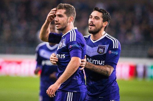 Anderlecht vrea să se despartă de ambii români din lot! Stanciu negociază cu Sparta Praga, Chipciu e dorit în Turcia