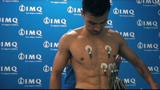 VIDEO | Cristi Ganea a trecut vizita medicală la Athletic Bilbao! Imagini cu internaţionalul român în timpul testelor