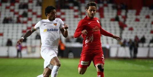 VIDEO | Kayserispor s-a calificat în sferturile Cupei Turciei. De Amorim a marcat la debut, Boldrin a înscris şi el