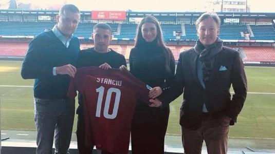"""Declaraţii după ce Nicuşor Stanciu şi-a pus semnătura pe contractul cu Sparta Praga: """"Am scăpat, gata!"""""""