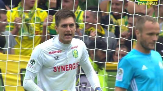 Un nou pas greşit pentru Nantes în Ligue! Formaţia lui Tătăruşanu s-a distanţat de locurile care duc în Europa