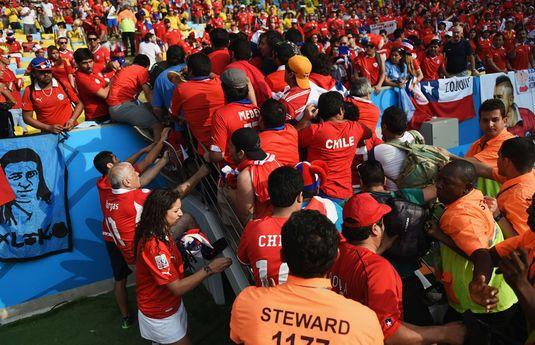 VIDEO | Fanii chilieni au înnebunit. Ce a făcut un suporter după înfrângerea umilitoare cu Brazilia