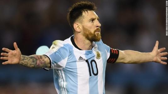 Messi a venit în recunoaştere. Argentina joacă un amical cu Rusia chiar pe stadionul pe care se va juca finala Cupei Mondiale, la vară