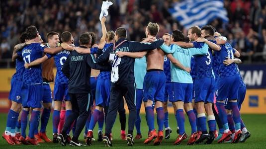 Croaţia a obţinut calificarea la Campionatul Mondial din Rusia