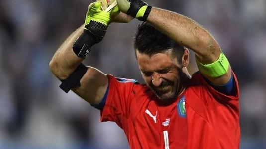 Mondial fără Italia după 60 de ani ani! Buffon spune adio naţionalei într-un mod dramatic!