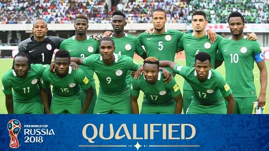 Bonus pentru calificarea la CM 2018! Ce sumă vor împărţi jucătorii Nigeriei