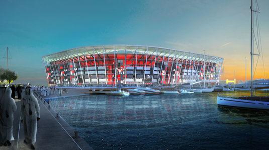VIDEO   Ras Abu Aboud Stadium, din Qatar, prima arenă demontabilă, transportabilă şi refolosibilă