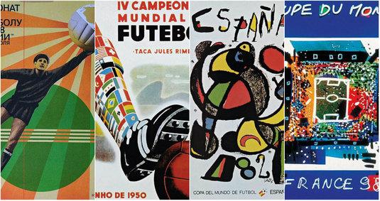Înapoi în viitor! Cum arată afişul oficial al CM 2018! GALERIE FOTO   Toate versiunile, din 1930 până în prezent. Care e cel mai frumos?
