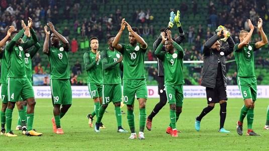 Nigeria a pierdut la masa verde meciul cu Algeria, dar calificarea la CM nu a fost în pericol