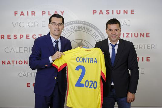 """Un antrenor din Liga I se bucură de instalarea lui Contra: """"E bine că avem selecţioner român, am trei jucători care pot fi convocaţi"""""""