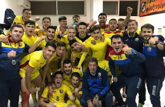 Victorie mare pentru România U19, contra Rusiei! Ne-am calificat la Turneul de Elită!