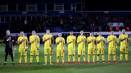 Remiză importantă scoasă de România U21 în Ţara Galilor. Tricolorii au avut în finalul partidei doi jucători eliminaţi