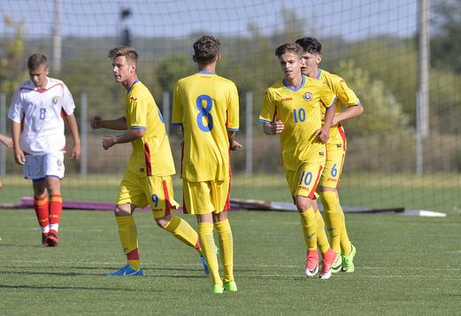 Tricolorii U15 vor disputa o dublă amicală cu Moldova! Avem lotul convocat şi datele când se vor juca cele două meciuri